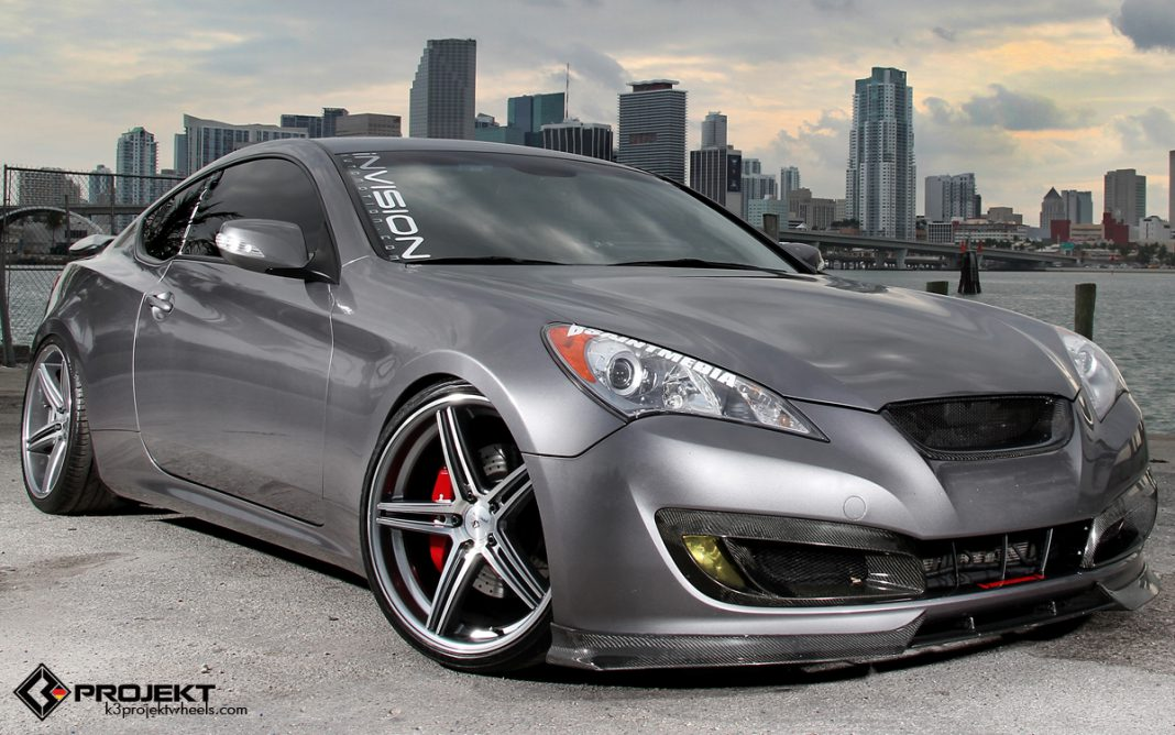 2010 hyundai genesis coupe by invision automotion and k3. Black Bedroom Furniture Sets. Home Design Ideas