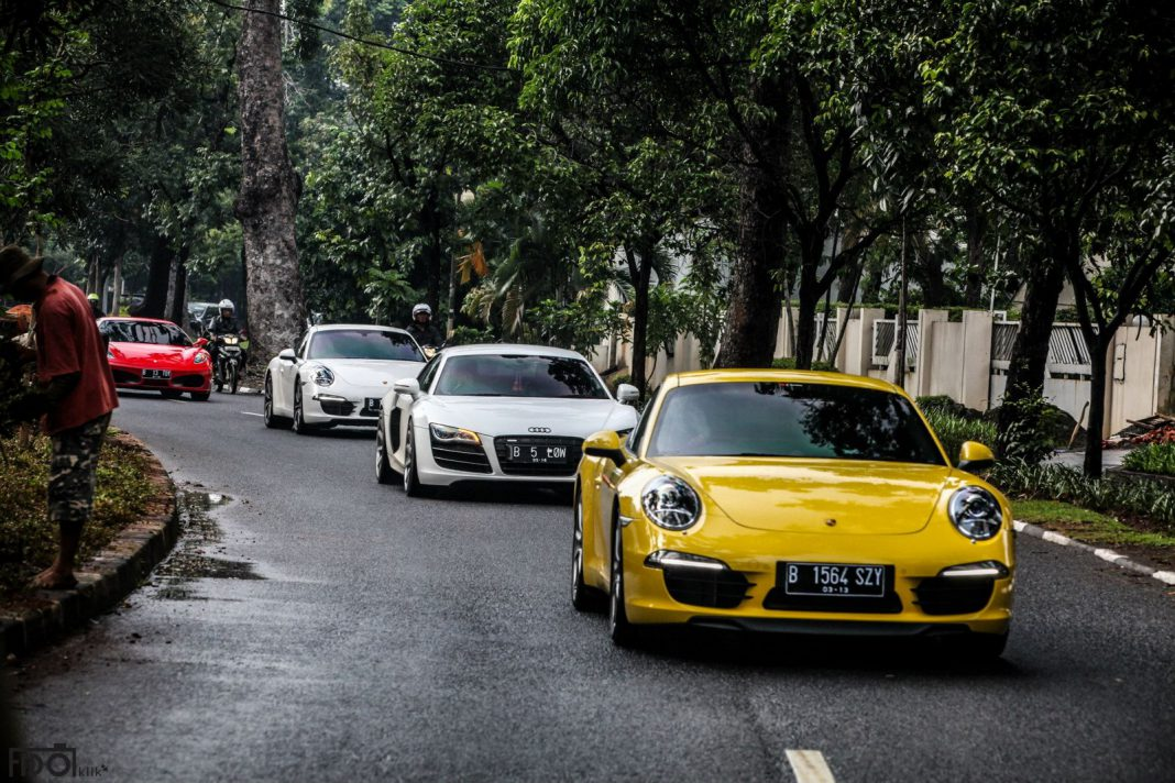 Supercar Club of Indonesia Goes to Kamang