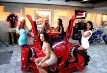 Car Girls of Anibal Automotive Design