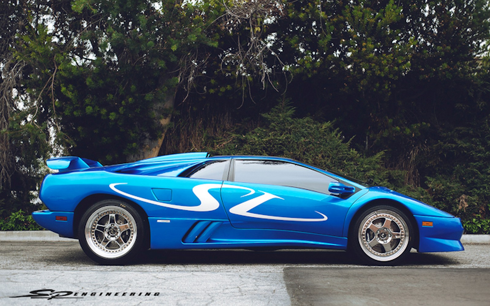 1998 Lamborghini Diablo Sv Monterey Edition By Sp Engineering Gtspirit