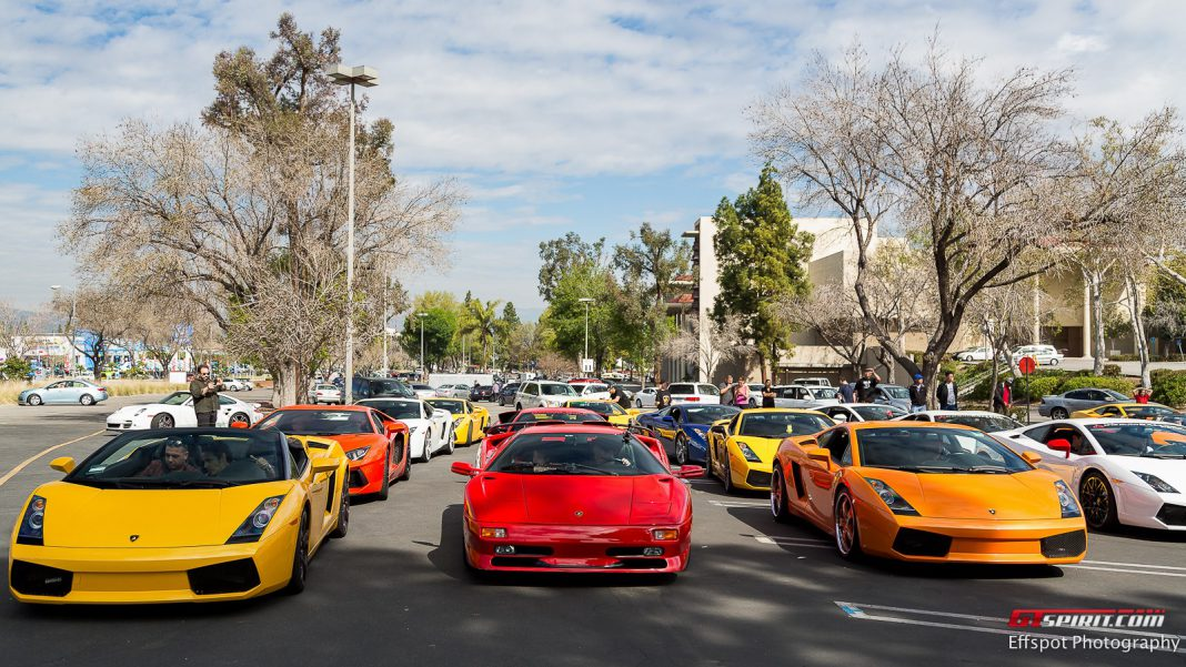 40 Lamborghini Run by Effspot Photography