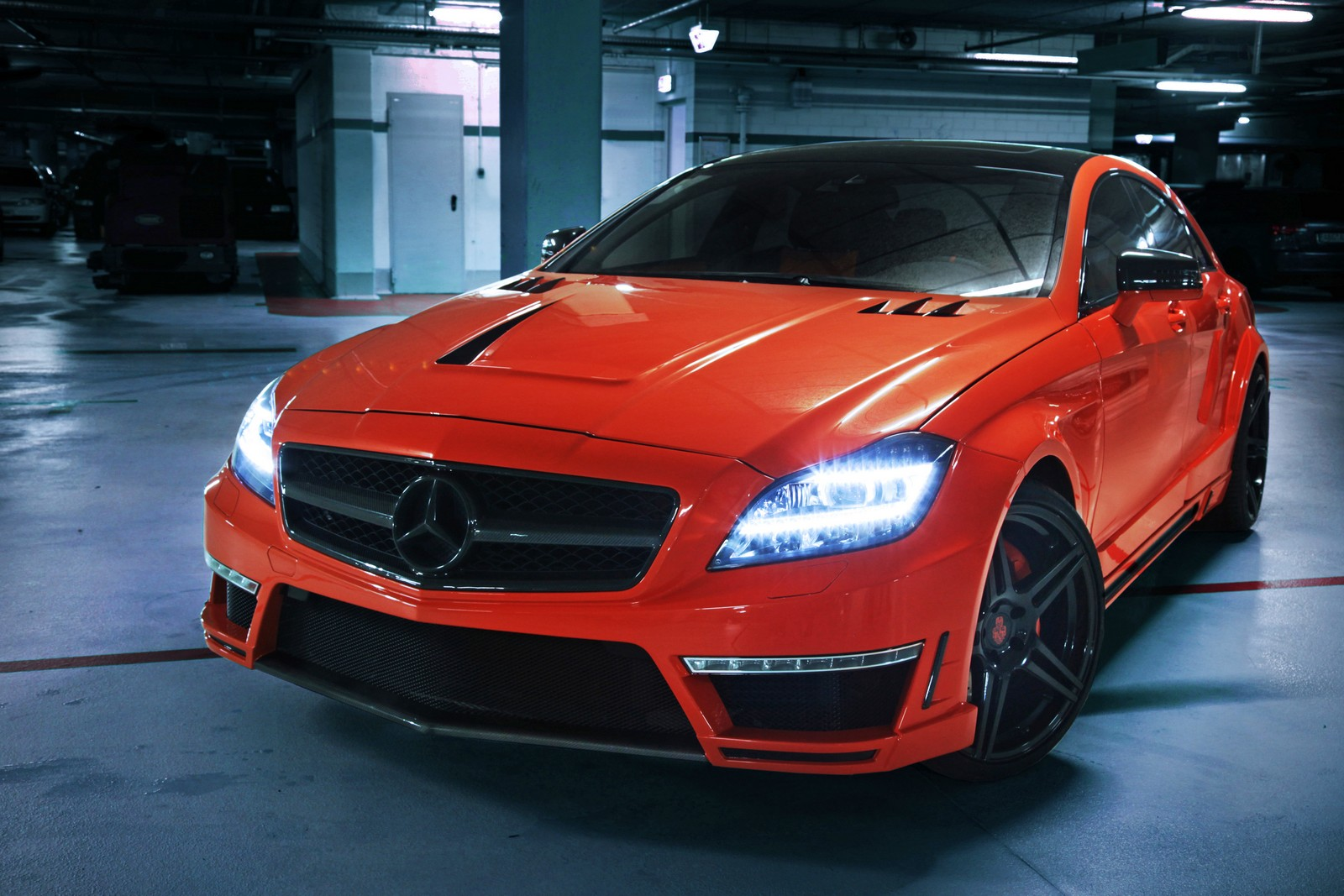 "updated: 750hp mercedes benz cls 63 amg ""stealth""german"