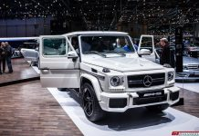 Mercedes Benz at Geneva 2013
