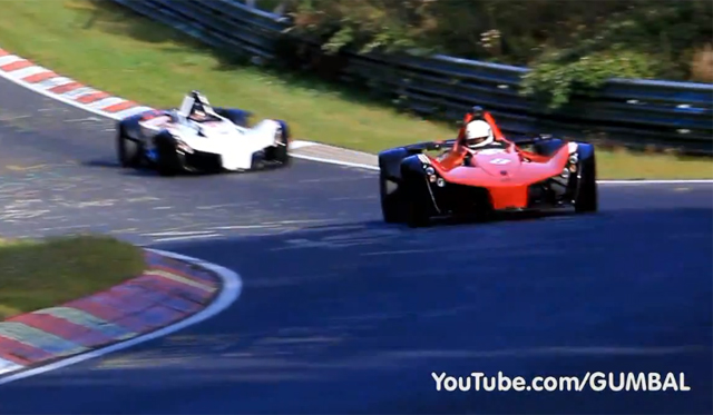 Video: Two BAC Mono's Captured at the Nurburgring
