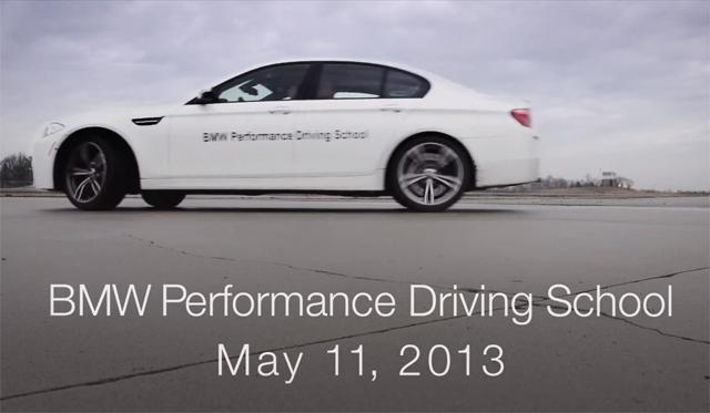 Video: BMW Planning 40 Mile BMW M5 Drift World Record