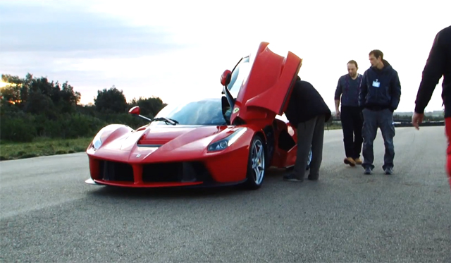 Video: Behind the Scenes of the LaFerrari's Launch