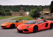Video: Lamborghini Aventador vs Ford GT 720 Mirage