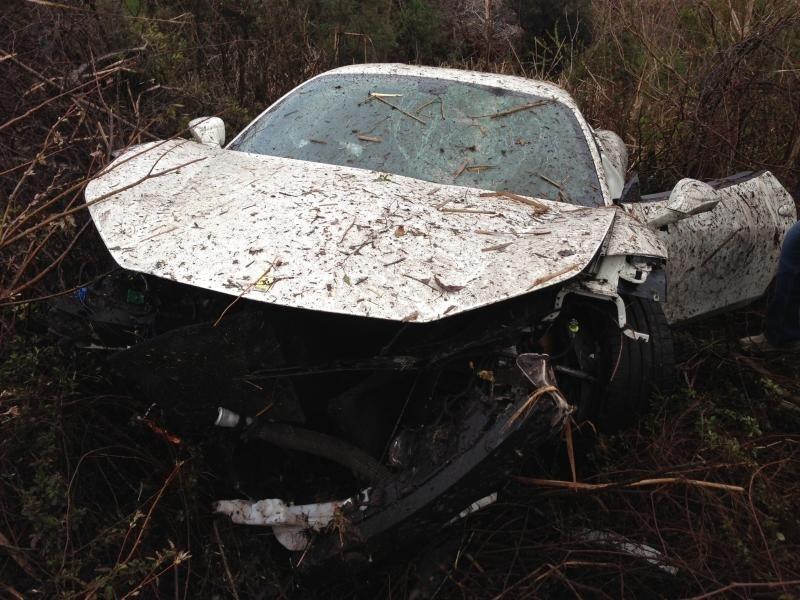 Car Crash: Underground Racing Ferrari 458 Italia Destroyed