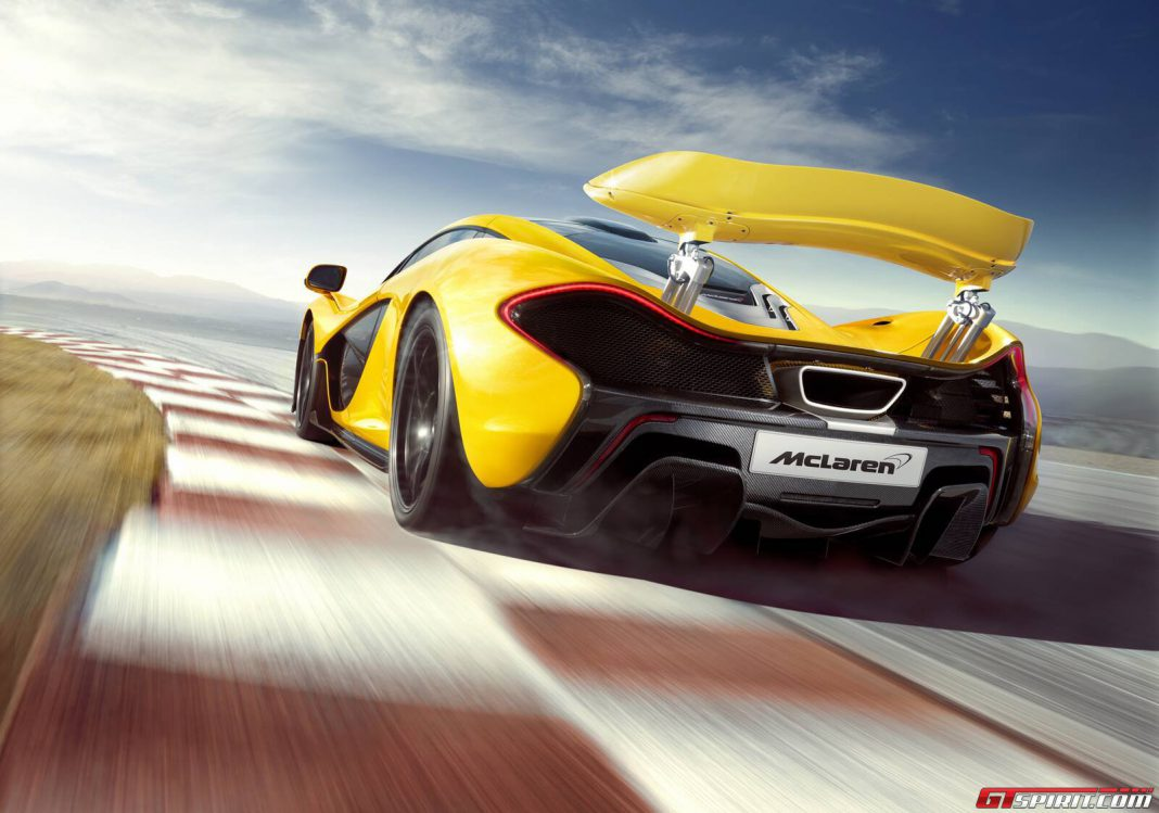 World Driving Debut of McLaren P1 set for Goodwood Festival of Speed 2013