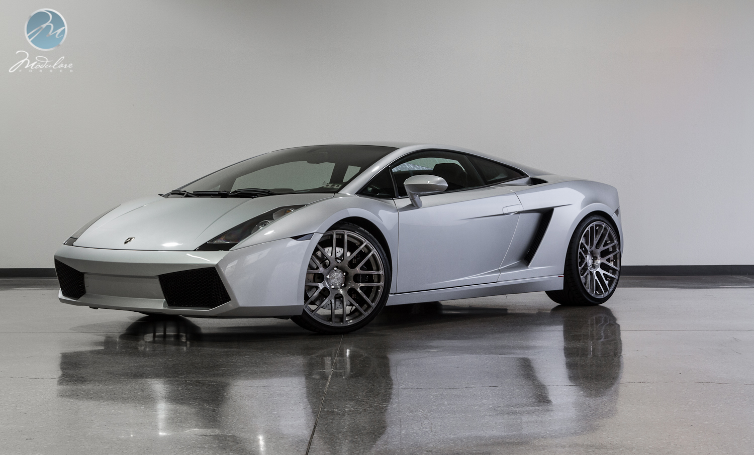 Lamborghini Gallardo Rolling On 20 Modulare Wheels Gtspirit