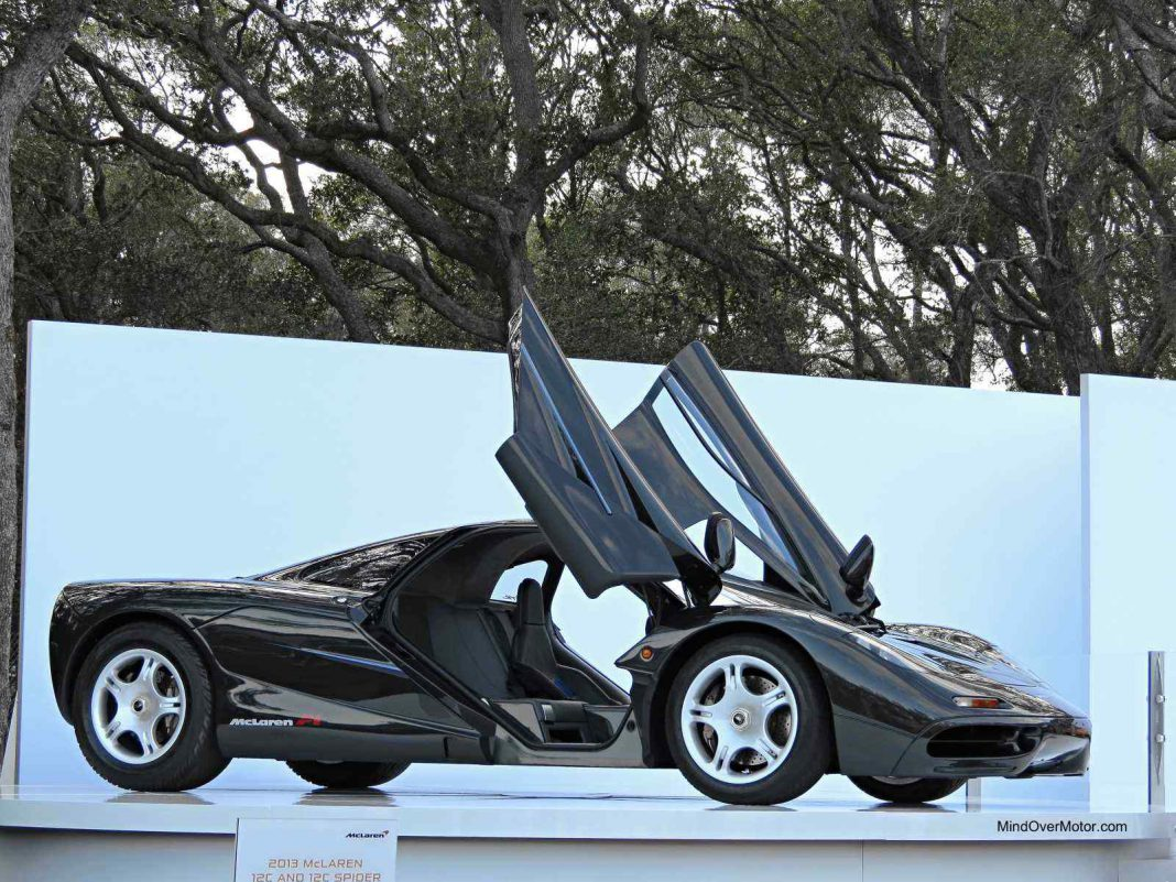 McLaren F1 at the Amelia Island Concours d'Elegance 2013