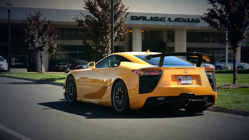 Video Experience The Wrath Of The Lexus Lfa Nurburgring Edition