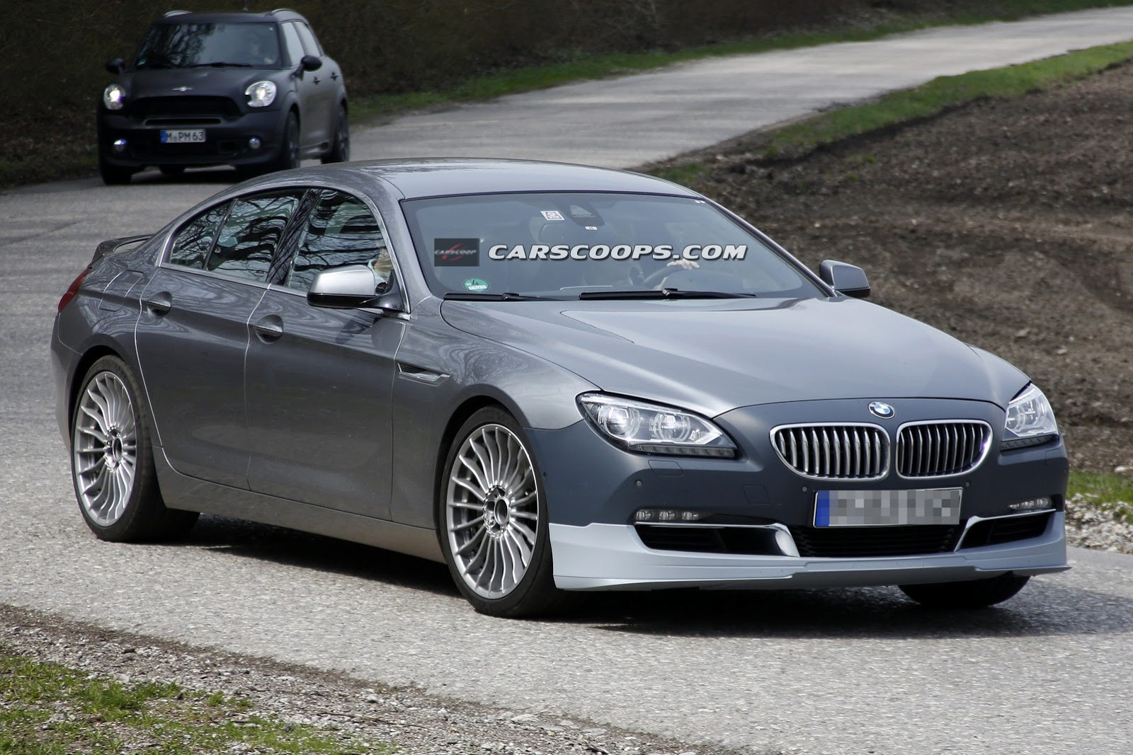 Spyshots Alpina B Gran Coupe BiTurbo Snapped In Germany GTspirit - Bmw alpina b6 biturbo price