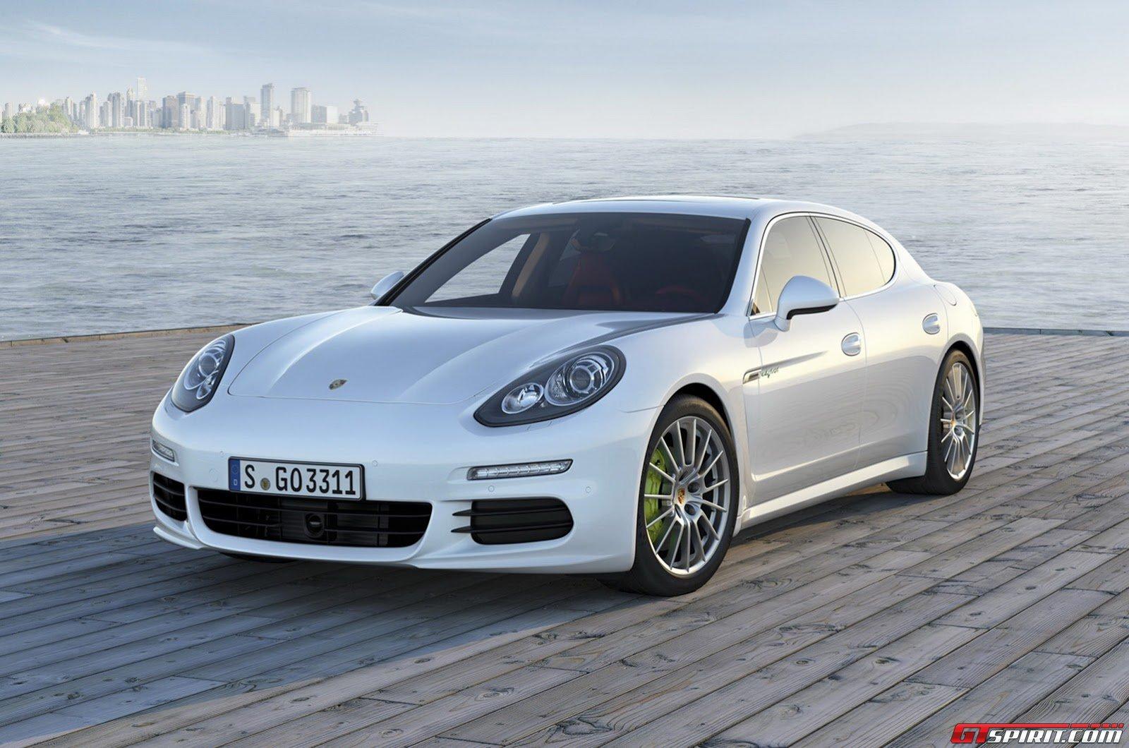 2014 porsche panamera - Porsche Panamera White 2014