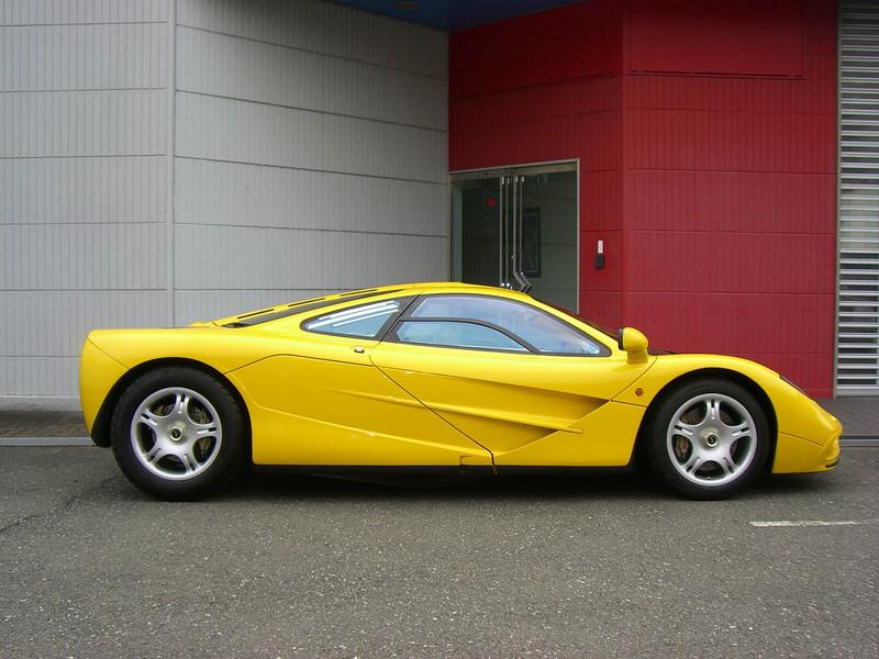 For Sale: Yellow McLaren F1 With Zero Miles - GTspirit