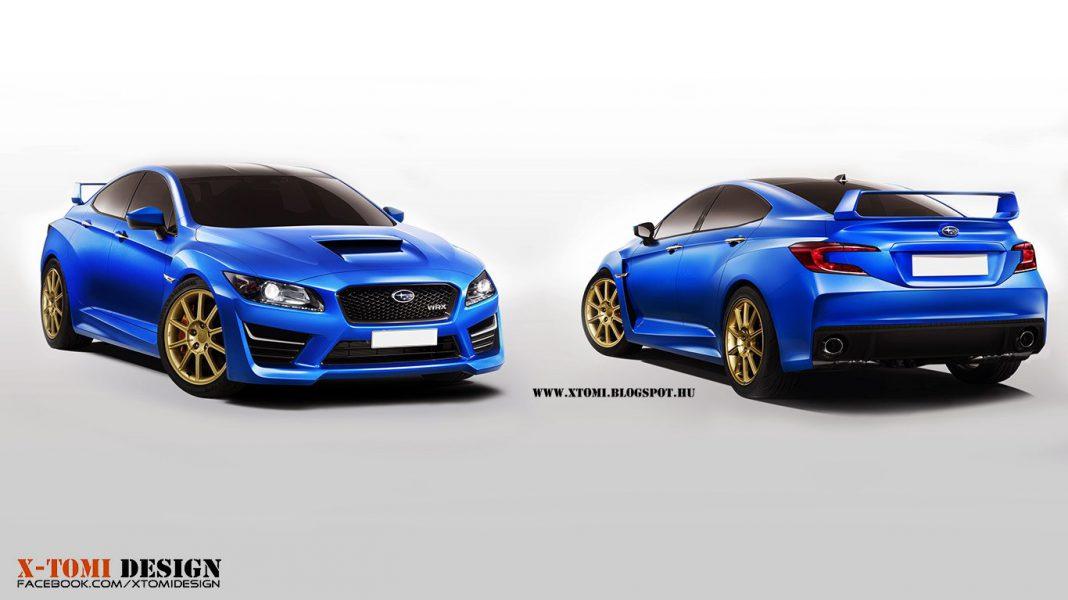 Render Subaru Impreza WRX STi Concept