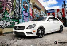 2013 Mercedes-Benz CLS550 on K3 Projekt Wheels