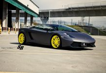 Lamborghini Gallardo with Giallo Tenerife PUR Wheels