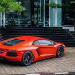 Arancio Argos Pearl Lamborghini Aventador Photoshoot by Fidoklik