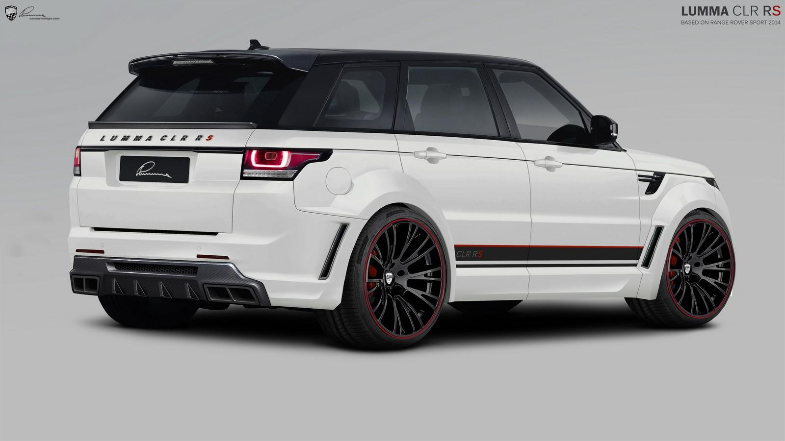 Official Lumma Design Range Rover Sport Clr Rs Gtspirit