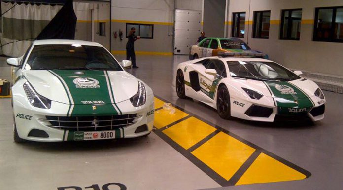Dubai Police add Ferrari FF to Fleet With SLS AMG and Continental GT Coming