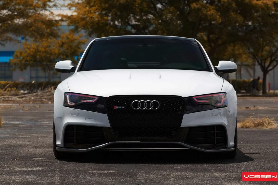 audi rs5 by oss designs and vossen wheels gtspirit. Black Bedroom Furniture Sets. Home Design Ideas