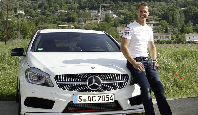 Schumacher To Be Safety Ambassador for Mercedes