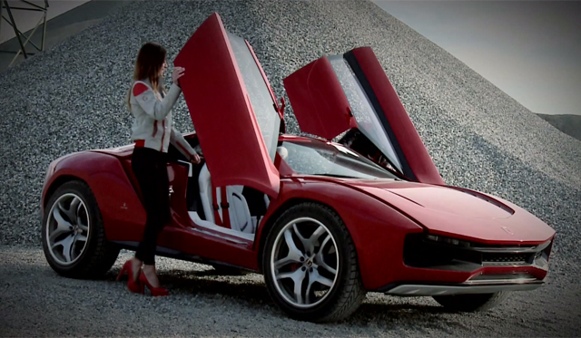 Video Italdesign Giugiaro Parcour Concept Hits The Track Gtspirit