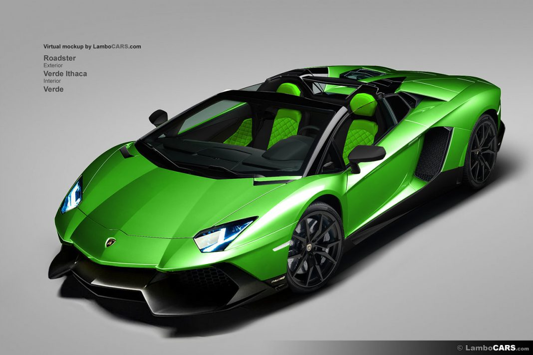 Lamborghini Aventador LP720-4 50th Anniversario in all Colors