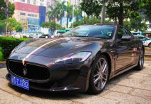 Glittery Maserati GranTurismo MC Spotted in China