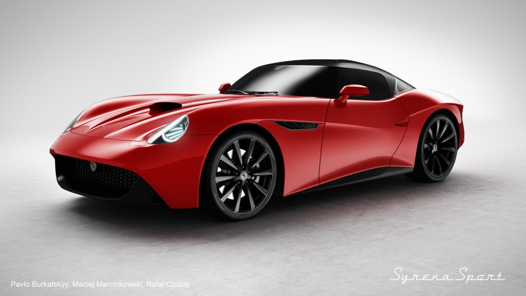 Revived Syrena Sport Could be Built From Nissan 370Z ...
