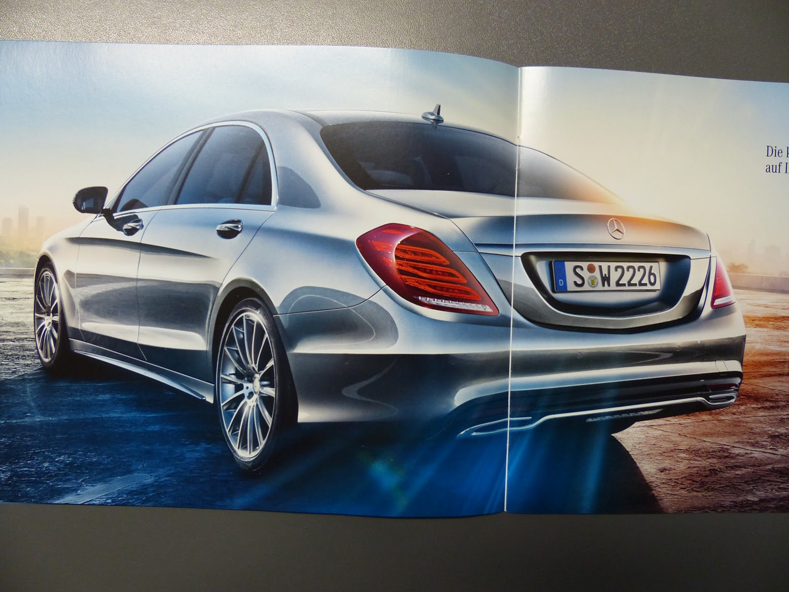 2014 mercedes benz s class leaked via official brochure gtspirit. Black Bedroom Furniture Sets. Home Design Ideas