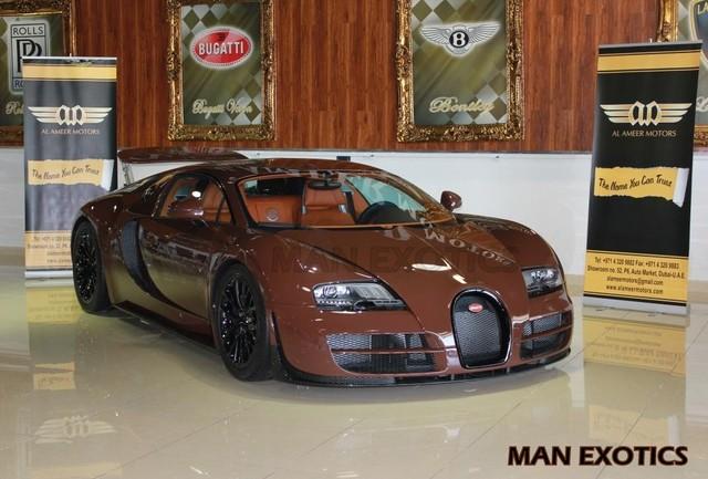For Sale: Brown Bugatti Veyron Super Sport In Dubai