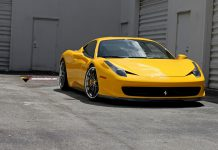 Ferrari 458 Italia by Vorsteiner and HRE Wheels