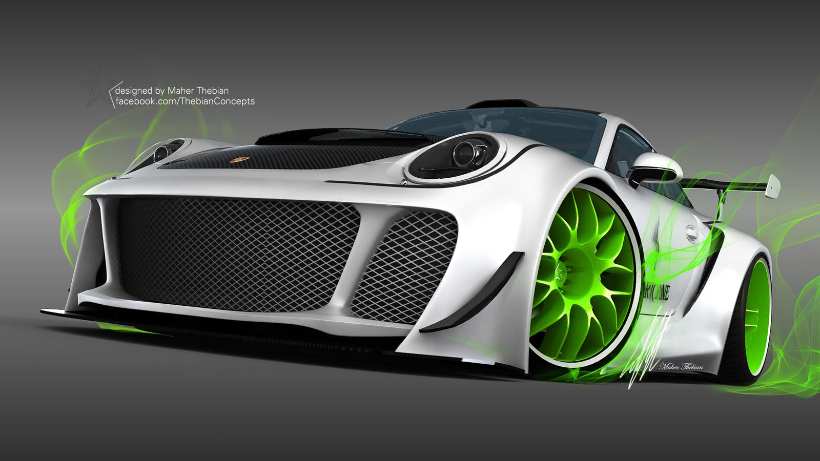 Render: 2014 Porsche Carrera U0027Hurricaneu0027 By Maher Thebian