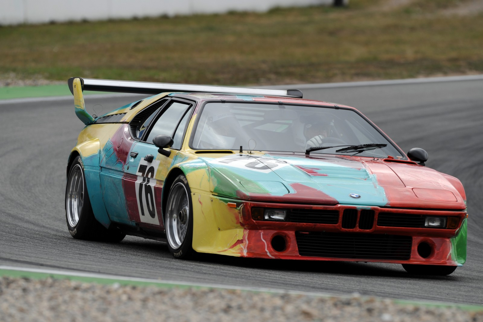andy warhol s 1979 bmw m1 art car to be center piece at saratoga automobile museum gtspirit. Black Bedroom Furniture Sets. Home Design Ideas
