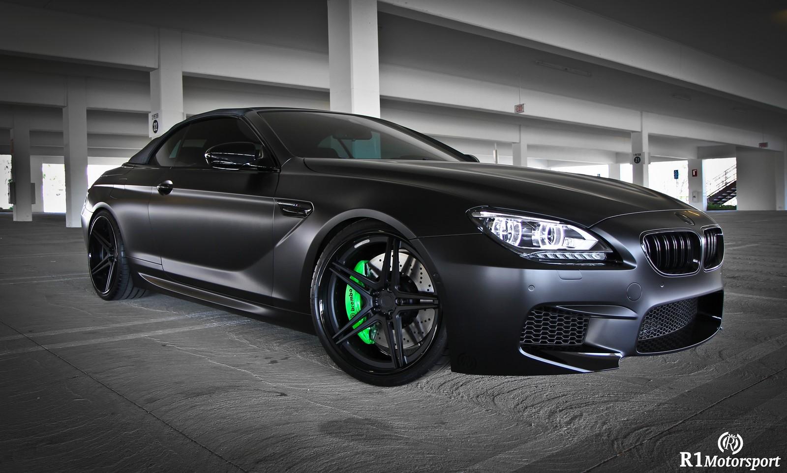 Satin Black BMW M6 by R1 Motorsports - GTspirit