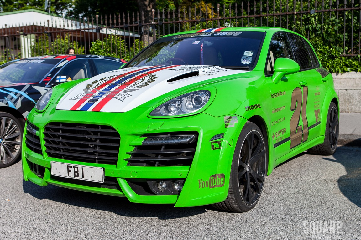 Cars For 3000: Mega Gallery: Gumball 3000 Cars In Vienna, Austria