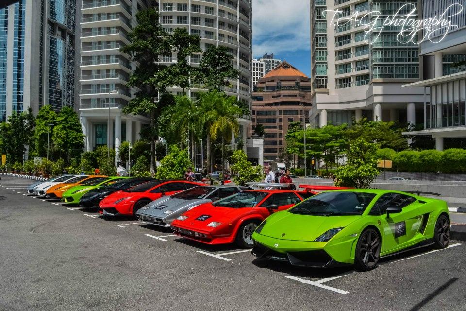 Lamborghini 50th Anniversary Asia Drive Malaysia Kuala Lumpur