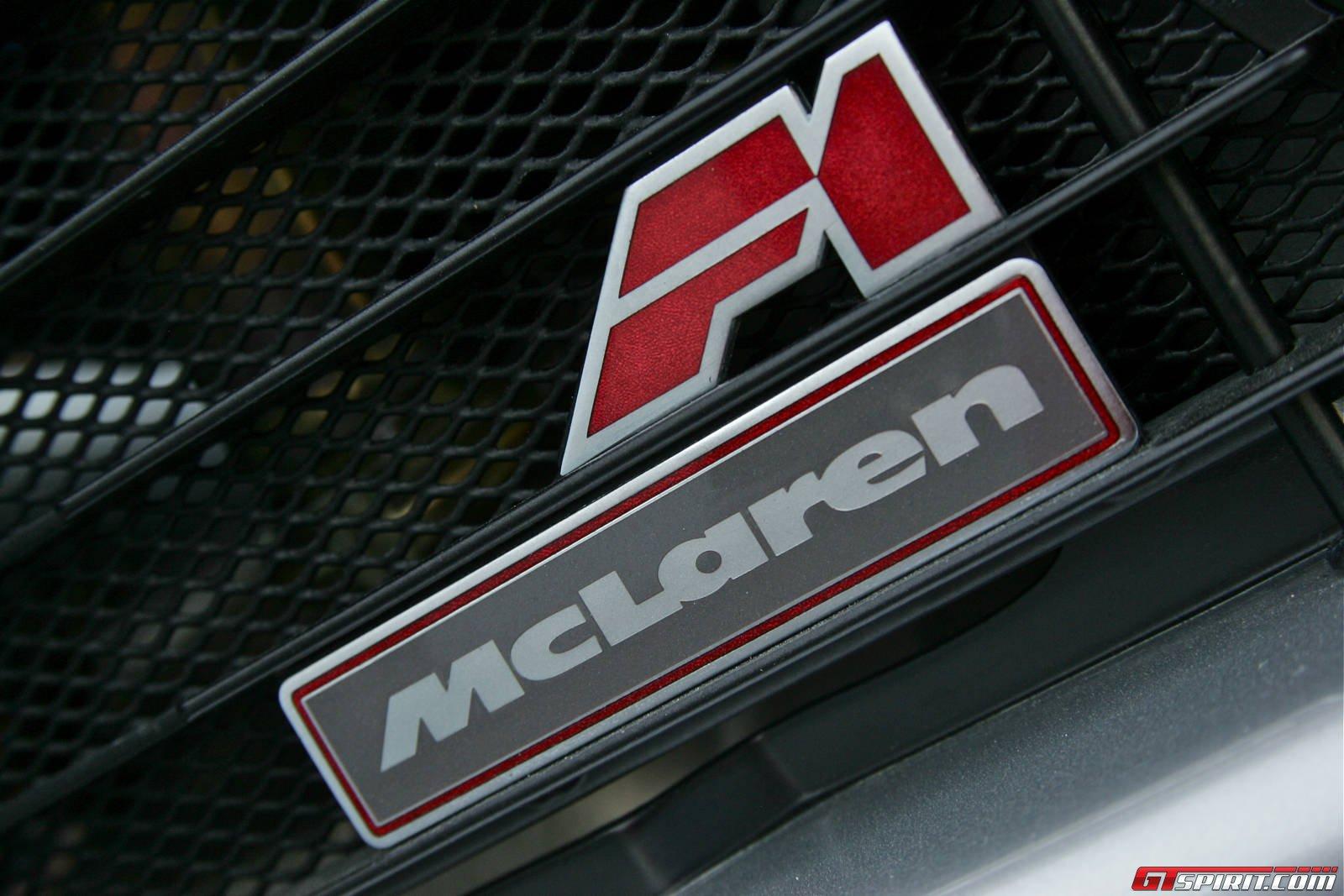 Mclaren F Badge