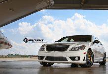 White 2012 Mercedes-Benz S63 AMG by K3 Projekt