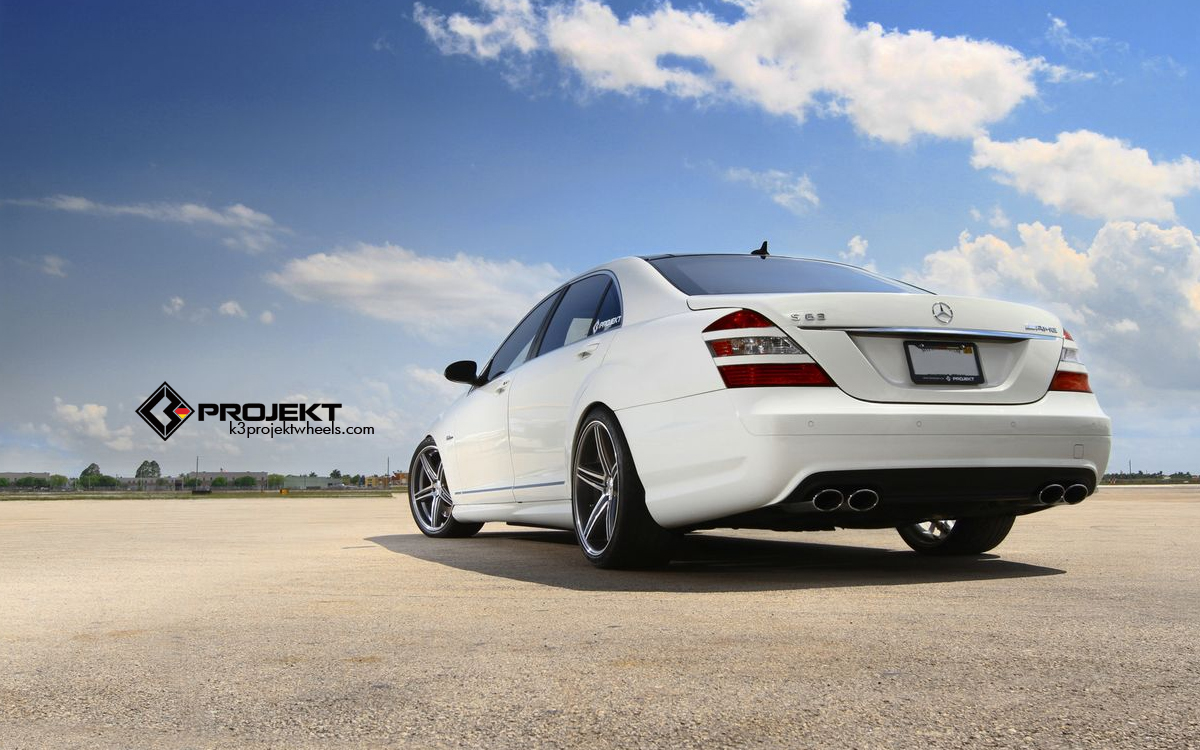 white 2012 mercedes benz s63 amg by k3 projekt gtspirit. Black Bedroom Furniture Sets. Home Design Ideas