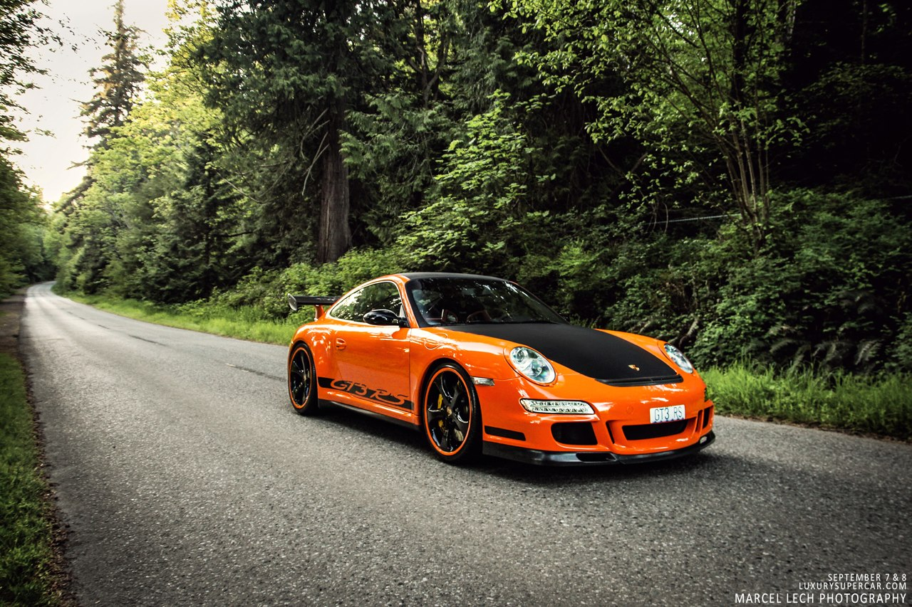 Gallery: Orange Porsche 997 GT3 RS by Marcel Lech ...