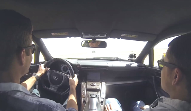 Video: Hollywood Star Paul Walker Drives Lexus LFA
