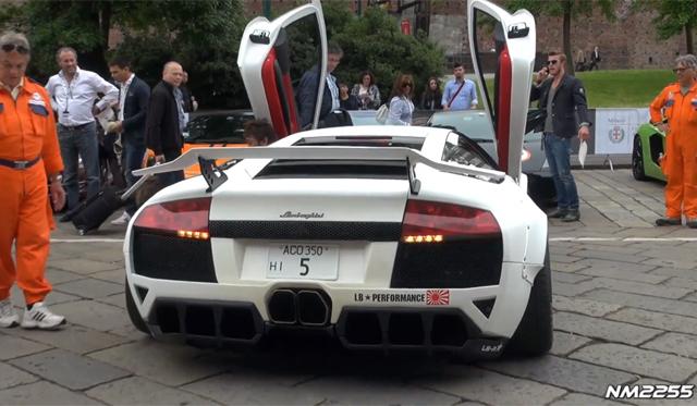 Video Hear The Widebody Lamborghini Murcielago By Lb Performance