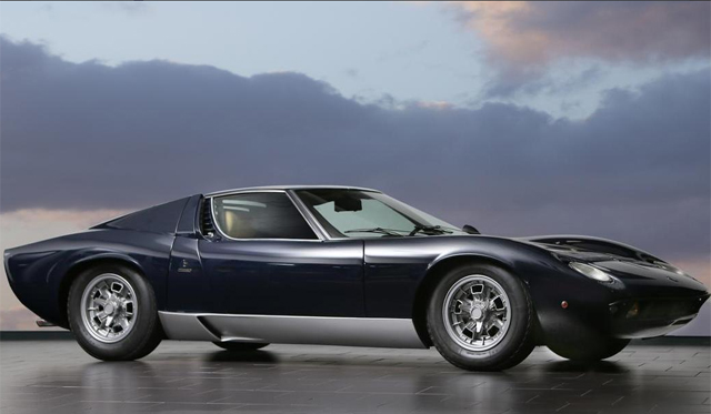 Seven Ferrari's, Six Porsche's and Lamborghini Miura to be Sold by Bonhams