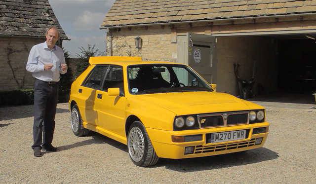 Video: Evo Drives Rare Lancia Delta Intergrale Evo II