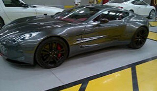 Dubai Police Adding Aston Martin One-77 to Already-Insane Exotic Fleet