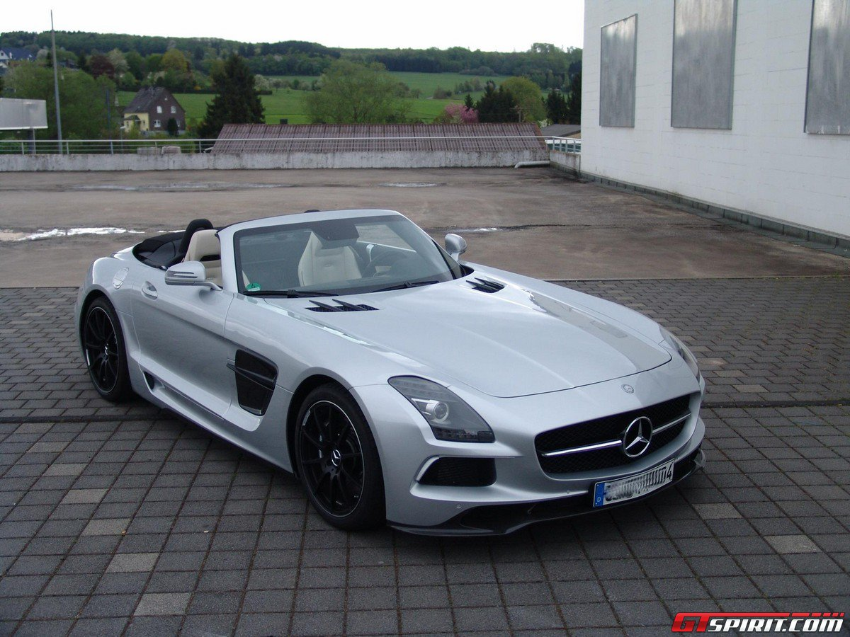 Inden design mercedes benz sls amg roadster gtspirit for Mercedes benz sls amg convertible for sale