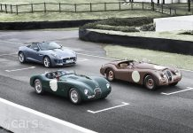 Jaguar Brining F-Type, XK120 and C-Type to Mille Miglia 2013